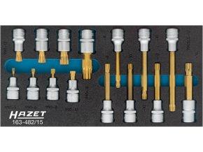 Sada nástrčných hlavic XZN 163-482/15 HAZET - HA207787