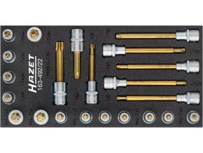 Sada nástrčných hlavic TORX 163-492/22 HAZET - HA208081