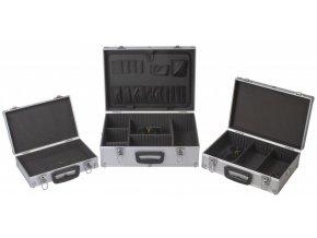 Sada hliníkových kufrů 3v1, 460 x 330 x 160 - AH14021B   AHProfi