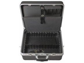 Kufr na nářadí na kolečkách, ABS, 480 x 360 x 240 mm - AH15021