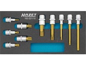 Sada nástrčných hlavic XZN 163-221/10