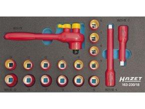 Sada nástrčných klíčů VDE 163-230/18