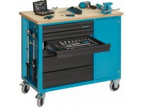 Pojízdný dílenský stůl 177W-6 - HA154630