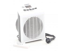 Teplovzdušný ventilátor EUROM SAFE-T 2000 LCD