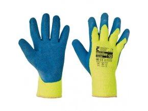 Zimní pracovní rukavice NIGHTJAR, máčené v latexu, balení 12 ks (Velikost 11)