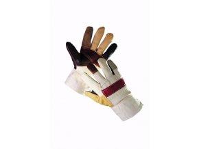 Zimní pracovní rukavice FIREFINCH, kombinované, balení 12 ks (Velikost 11)