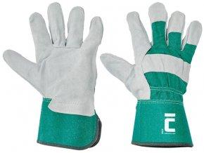 Pracovní rukavice EIDER kombinované, balení 12 ks (Barva Žlutá, Velikost 12)