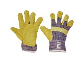 Pracovní rukavice TERN kombinované, balení 12 ks (Velikost 11)
