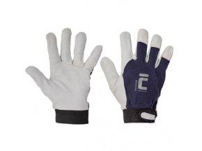 Pracovní rukavice PELICAN BLUE kombinované, balení 12 ks (Velikost 11)