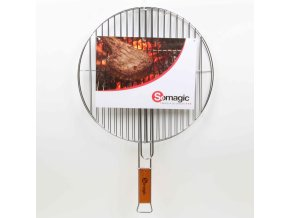 Somagic, Chromová dvojitá grilovací mřížka, průměr 41 cm