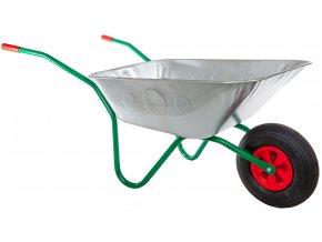 Zahradní kolečko 80l ULTRA lehké s nafukovací pneumatikou KZ07