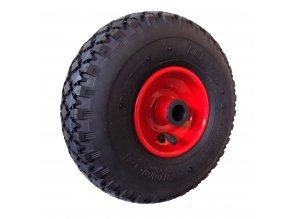Nafukovací kolo na kovovém disku s válečkovým ložiskem NK1 (Průměr kola 300 mm)