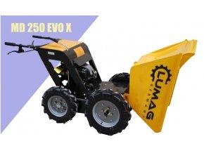 Minidumper Lumag MD 250 EVO X  Mini Dumper HML 250