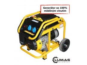 Generátor Lumag G3-E  benzínová elektrocentrála 230 V