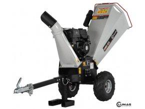 Štěpkovač Lumag RAMBO HC15 REVERZNÍ STARTÉR  Zahradní benzínový štěpkovač