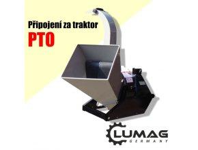 Štěpkovač Lumag HC-1000PTO  Štěpkovač za traktor