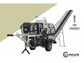 Štípací poloautomat Lumag SSA-400E  štípací poloautomat s elektropohonem