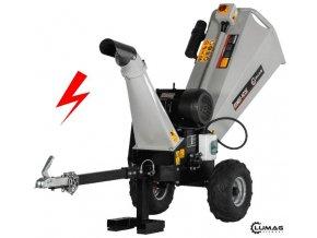 Elektrický štěpkovač dřeva RAMBO HC15E