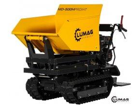 Minidumper Lumag MD 500H-PRO/HT  Minidumper se zvýšeným výsypem