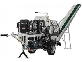 Štípací poloautomat Lumag SSA-500E  Štípací poloautomat s elektromotorem