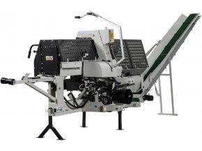 Štípací poloautomat Lumag SSA-500Z  Štípací poloautomat na náhonovou hřídel PTO