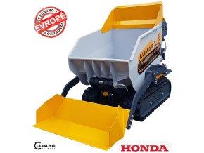 Profi minidumper Lumag VH 500APROGX (HONDA)  samonakládací minidumper s motorem HONDA