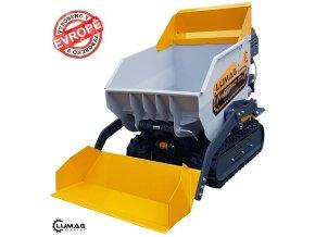 Profi minidumper Lumag VH 500APROD (DIESEL)  Samonakladácí minidumper s dieselovým motorem