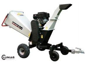 Štěpkovač Lumag RAMBO HC 15PRO  Zahradní benzínový štěpkovač
