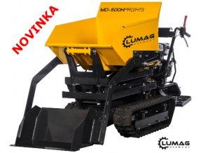 Minidumper Lumag MD 500H-PRO/HTS  samonakládací minidumper se zvýšeným výsypem