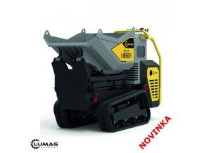 Profi minidumper Lumag VH850 HT GX  Minidumper se zvýšeným výsypem
