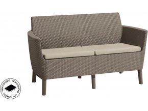 SALEMO 2 seater sofa - cappuccino