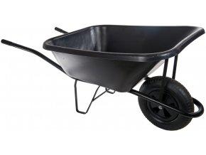 Zahradní kolečko 120L s nafukovací pneumatikou KZ03
