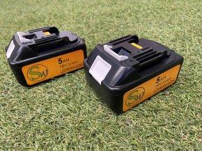 Vyměnitelné baterie k 500W kolečku EASY, KLASIK, DELUXE, akumulátorové kolečko s nosičem