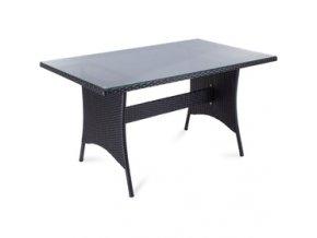 FDZN 6005-PR Polyratanový stůl FIELDMANN