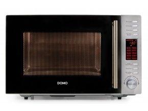 Mikrovlnná a horkovzdušná trouba s grilem - DOMO DO2330CG , 30l, nerez