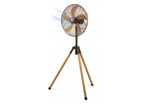 Ventilátor stojanový 45 cm - imitace dřeva - DOMO DO8146