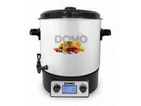 Plně automatický zavařovací hrnec s LCD - DOMO DO42324PC, plnoautomat s časovačem a termostatem