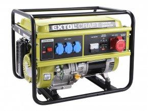 elektrocentrála benzínová, 13HP/5,5kW (400V) 3x1,8kW (230V)