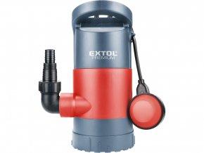 čerpadlo na znečištěnou vodu 3v1, 900W, 13000l/h