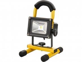 reflektor LED, nabíjecí s podstavcem, 800lm, Li-ion