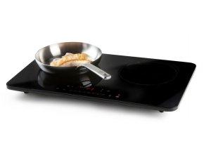 Indukční dvouplotýnkový vařič - DOMO DO333IP