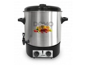 Zavařovací hrnec nerez - plastový kohout - DOMO DO42323PC, 2000W