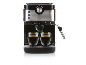 Espresso kávovar pákový - černý - DOMO DO711K