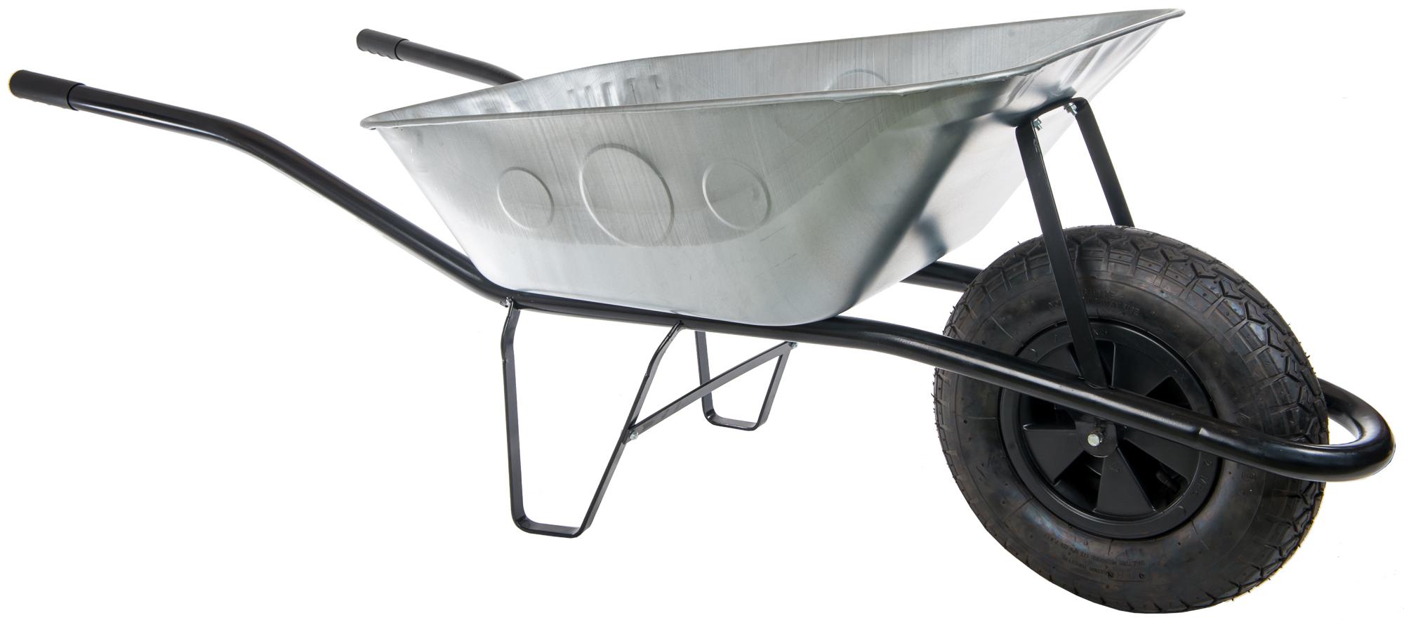 HTI Stavební kolečko 80l s nafukovací pneumatikou KS11