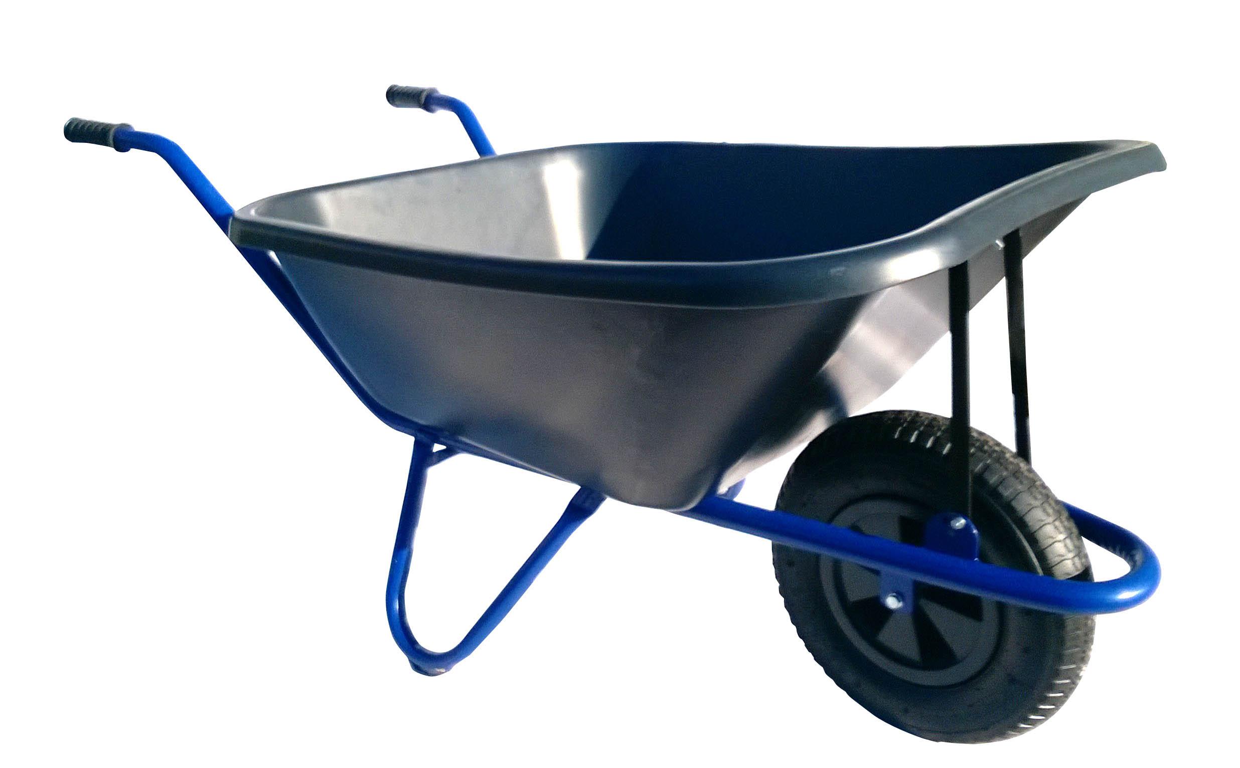 HTI Zahradní kolečko 120L EURO rám s nafukovací pneumatikou KZ09