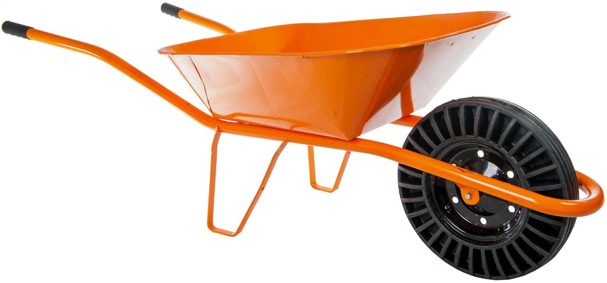HTI Stavební kolečko 60l bantam oranžové KS07