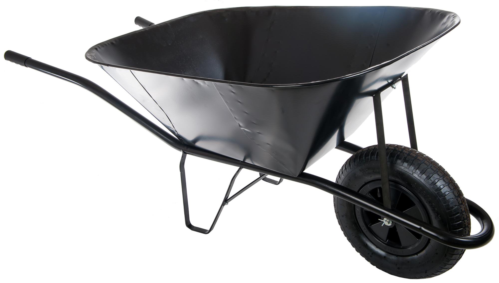 HTI Stavební kolečko 150l s nafukovací pneumatikou KS05