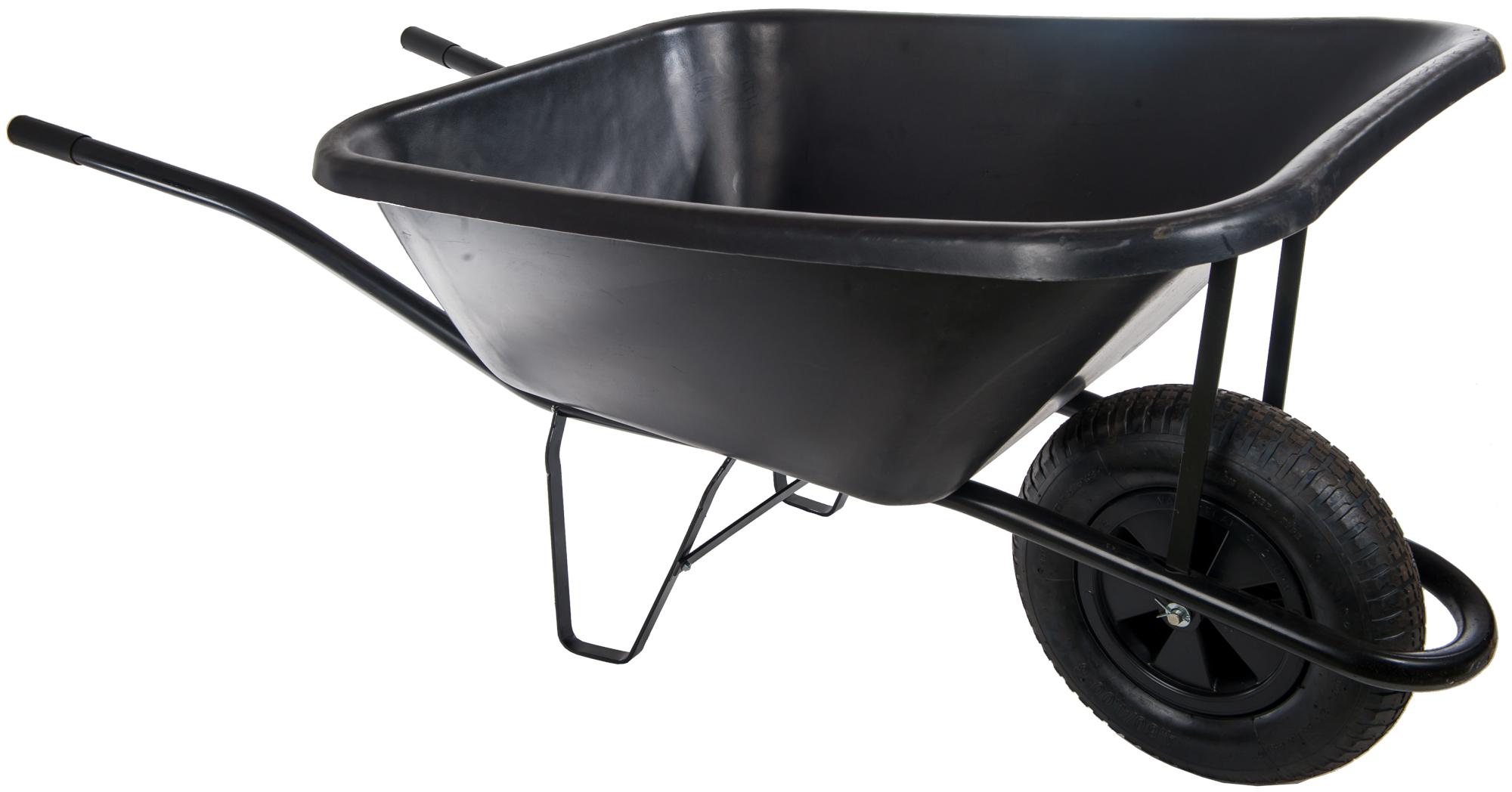 HTI Zahradní kolečko 120L s nafukovací pneumatikou KZ03