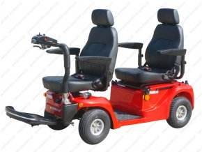 tandem celoodpruzeny elektricky vozik nosnost 300kg bz77y