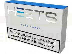 HEETS BLUE LABEL modrá